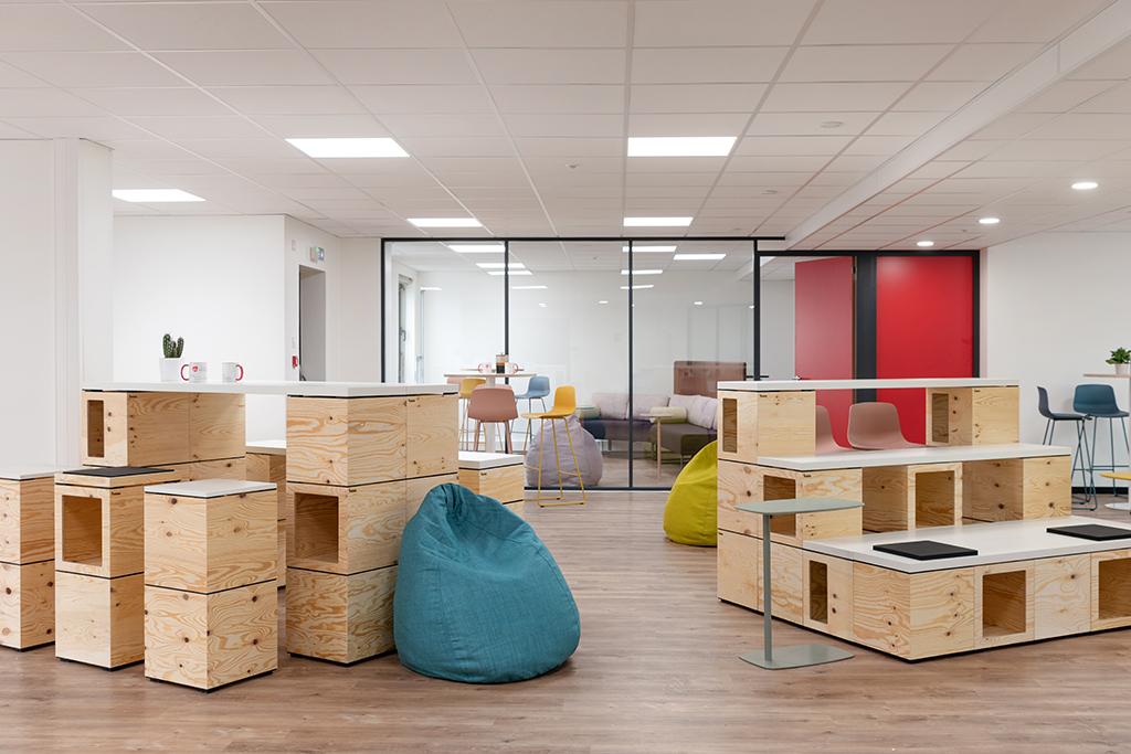 STEM - Aménagement d'un espace de bureau OPERA ENERGIE