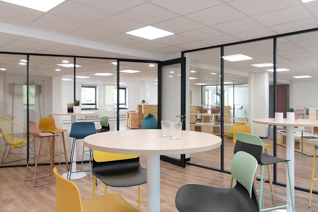 STEM Group - Aménagement d'un espace de bureau OPERA ENERGIE - 2020